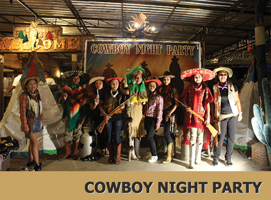 cowboy night party